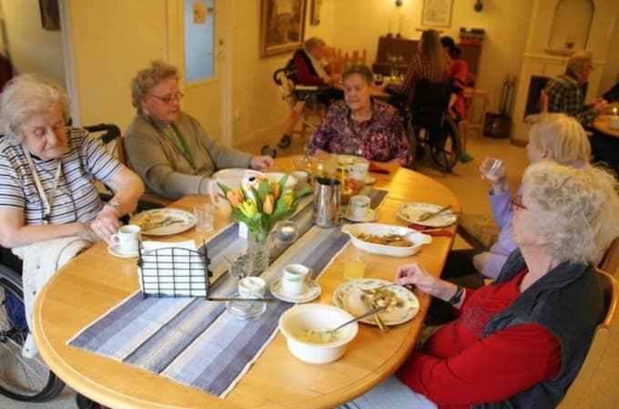 De boende på Frödala i Frödinge får behålla sin matsal. Foto: Simon Henriksson