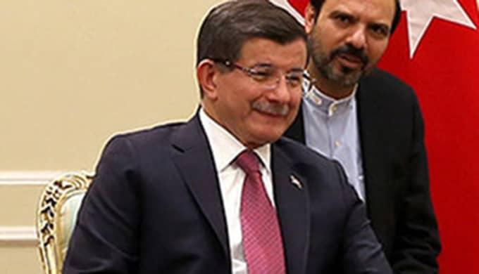 Turkiets premiärminister Ahmet Davutoglu. Foto: AP