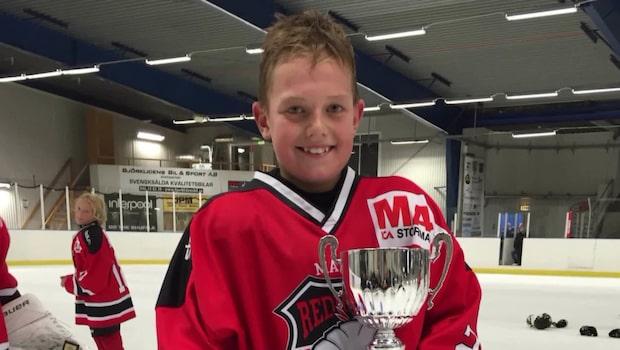 Oliver Mattsson, 14, berörde en hel sportvärld