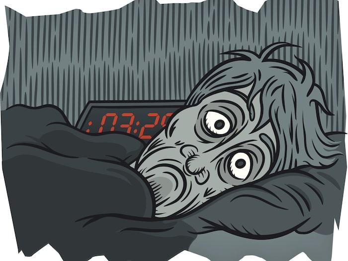 trött på dagen pigg på kvällen