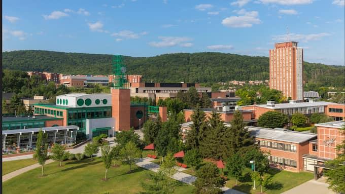 Haley Anderson gick sista året på sin sjuksköterskeutbildning på Binghamton University. Foto: Binghamton University