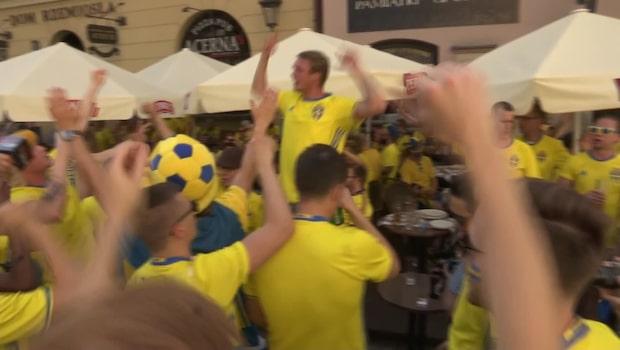 Här tar Sverige över polska staden