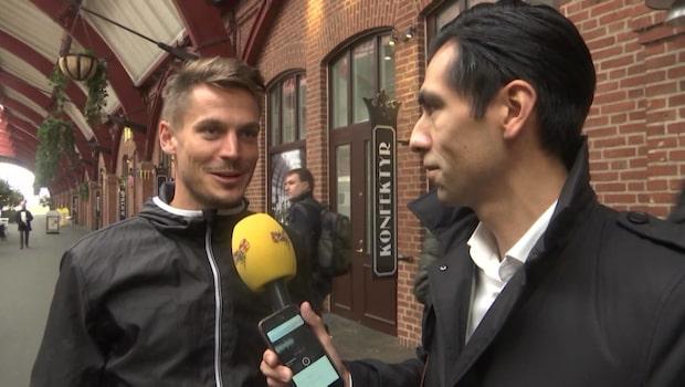 Mästarna togs emot av fansen i Malmö