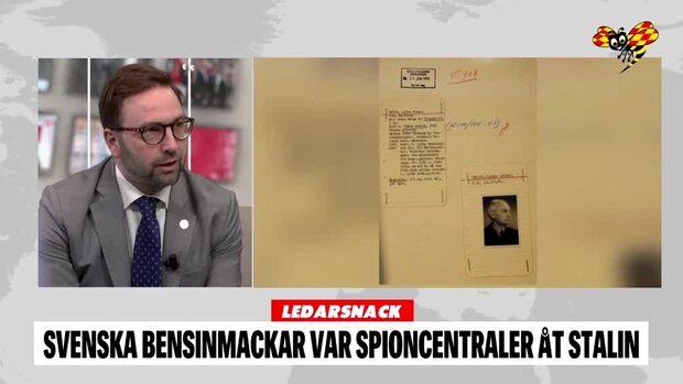"""LEDARSNACK: """"Svenska bensinmackar spionerade åt Sovjet"""""""