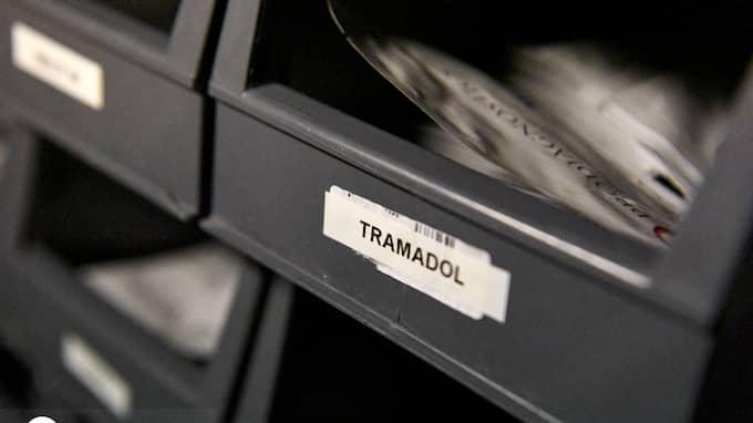 En stor härva med Tramadol-tabletter har avslöjats i Eslöv Foto: JOHAN NILSSON/TT / TT NYHETSBYRÅN