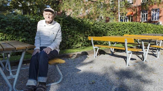 Sten-Erik Eriksson dog på rättpsyk. Foto: SARA STRANDLUND