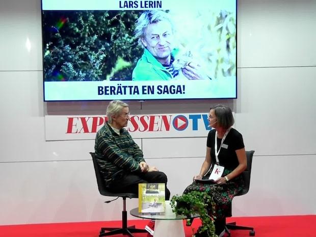 Lars Lerin om sin första barnbok