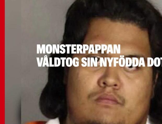 Monsterpappan våldtog sin nyfödda dotter