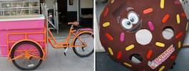 Galnaste utförsäljningen –Dunkin' donuts rear ut varenda pryl och möbel i butiken