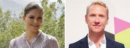 Jesper Börjessons tårar  efter mötet med Victoria