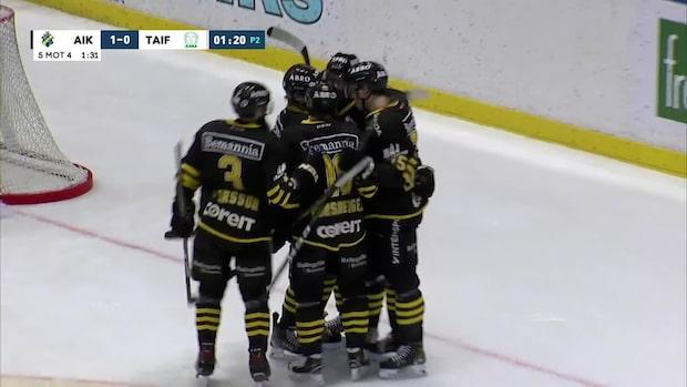 Highlights: Nord hjälte för AIK