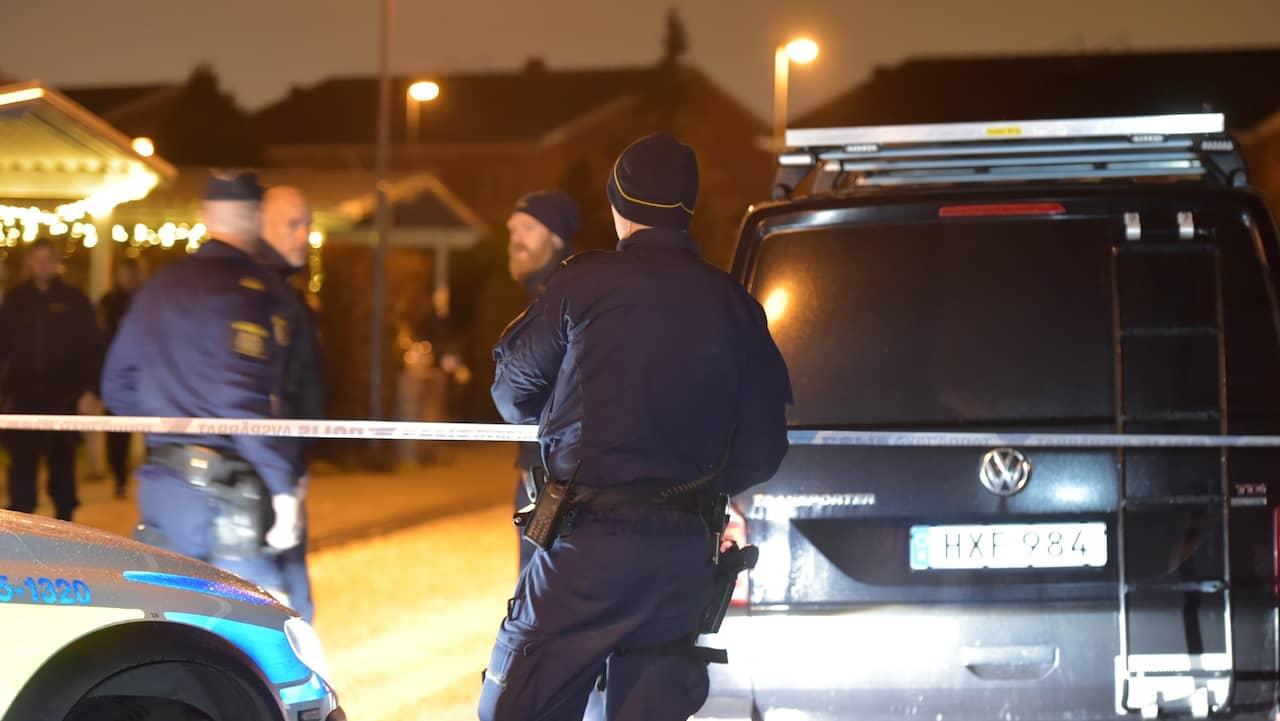 Skottlossning i bostad i centrala stockholm