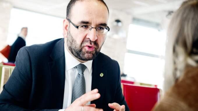Bostadsminister Mehmet Kaplan (MP). Foto: Anna Svanberg / ANNA SVANBERG GT-EXPRESSEN