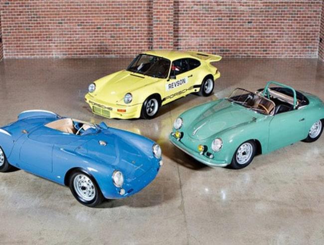 Jerry Seinfeld säljer tre rariteter från Porsche – bara en liten del av en stor samling bilar.