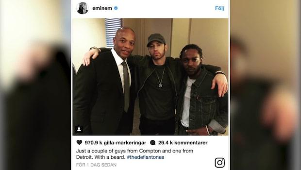 "Eminems fans: ""Raka av dig skiten"""