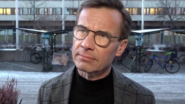 """Ulf Kristersson: """"Man ska stå för det man sa innan valet"""""""