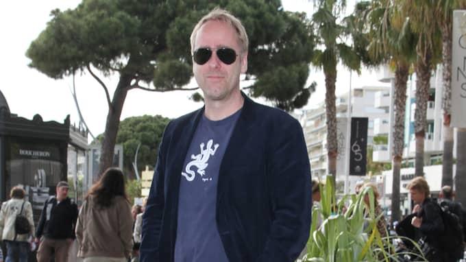 Ulf Malmros på filmfestivalen i Cannes.