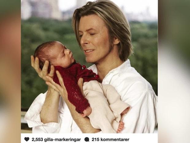 Så ser David Bowies 17-åriga dotter ut idag