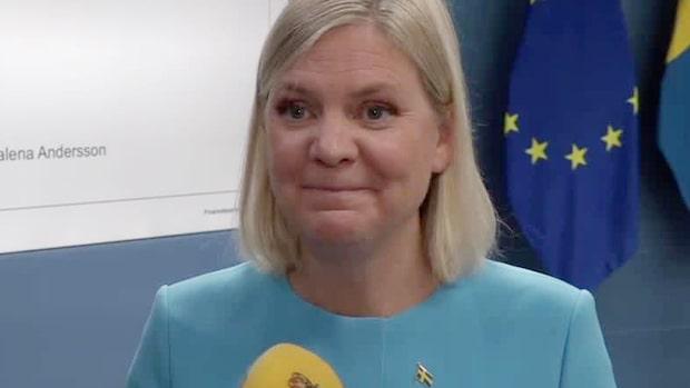 """Magdalena Andersson: """"En god gärning om man tar en öl på fredagen"""""""