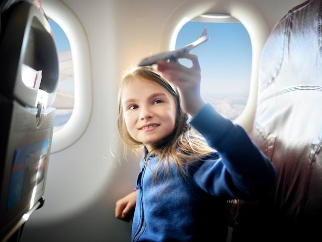 På flygplan är det vanligt att säte och fönster inte matchar.