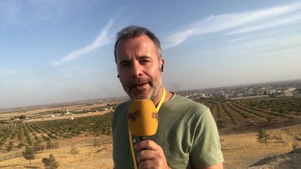 """Kassem Hamadé: """"Det faller bomber över hela staden"""""""