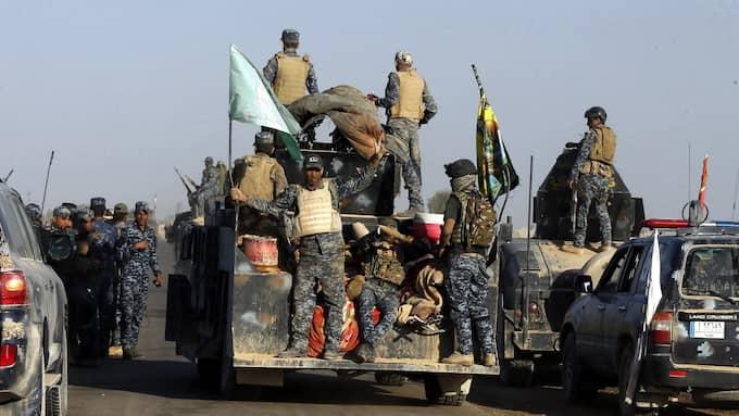 De irakiska truppförflyttningarna oroar kurderna. Foto: AHMED JALIL / EPA / TT / EPA TT NYHETSBYRÅN