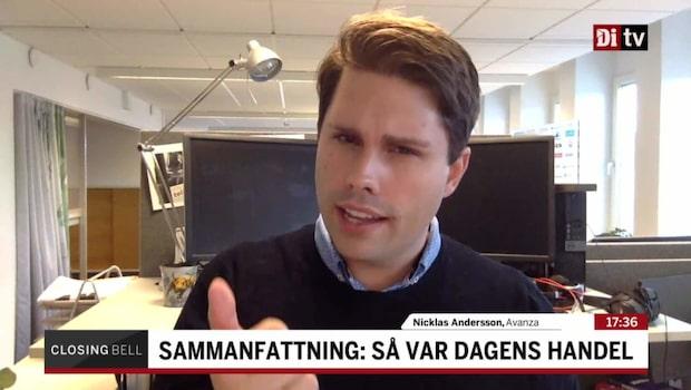 """Andersson: """"Det här är veckans thriller"""""""