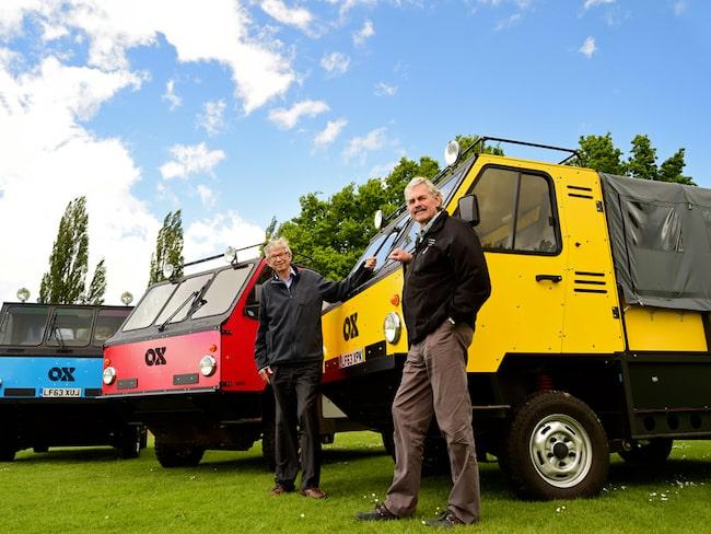 Filantropen Torquil Norman har fått hjälp av F1-konstruktören Gordon Murray för att utveckla lastbilen Ox.