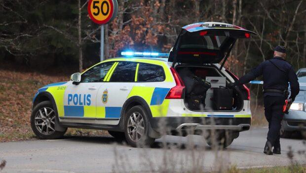 Polisen om misstänkta brottet i Barkarby