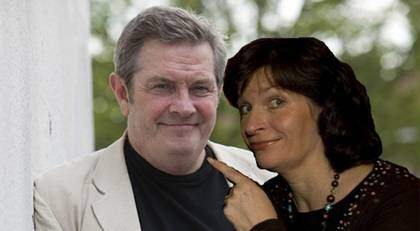 Lotta Thorell och Allan Svensson - ett särbo-par sedan länge. Snart sambo i Malmö (Bilden är ett montage). Foto: Suvad Mrkonjic och Tomas Leprince