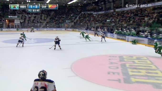 Händelsen som får Niklas Wikegård att reagera. Foto: C More