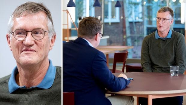 """Anders Tegnell överväger att sluta i april: """"Får ta mig en ordentlig funderare"""""""