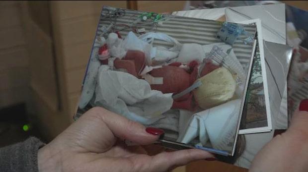Emily föddes tre månader för tidigt