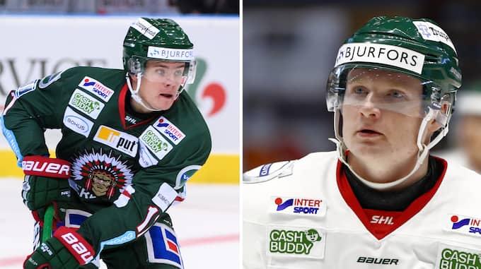 Både Victor Olofsson och Carl Grundström har drabbats av skador. Foto: Bildbyrån