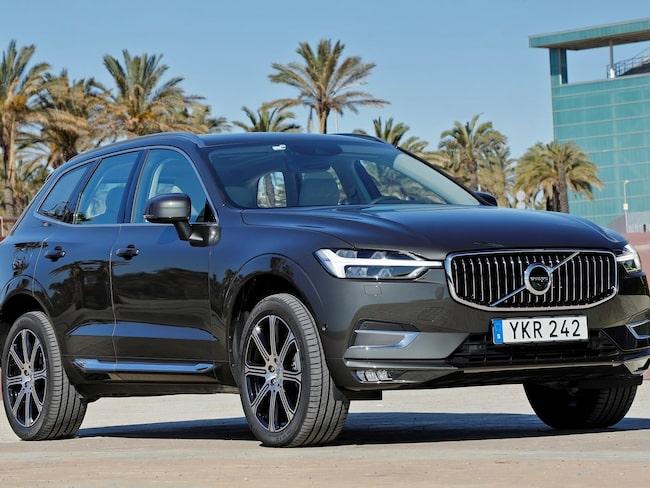 Av de tio populäraste bilarna att leasa slår skattehöjningen hårdast mot Volvo XC60