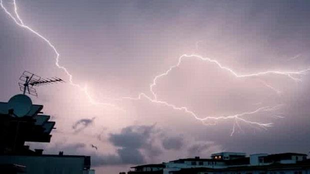 Larm om blixtnedslag på flera håll – hästar innebrända i Uppsala