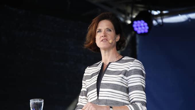 Moderaternas partiledare Anna Kinberg Batra. Foto: CHRISTINE OLSSON/TT / TT NYHETSBYRÅN