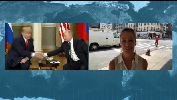 Starka reaktioner i Washington efter mötet mellan Trump och Putin