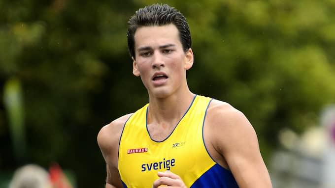 Perseus Karlström under EM 2014. Foto: CARL SANDIN / BILDBYRÅN