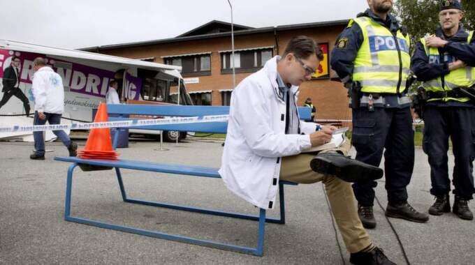 Sverigedemokraternas charmoffensiv i Västerbottens inland: ett rejält fiasko, skriver Lars Lindström. Foto: Robban Andersson