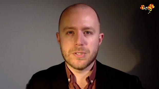 """Viktor Barth-Kron om senaste Sifo-mätningen: """"Historiskt låga nivåer"""""""