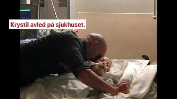Höggravida frun omkom i bilolycka