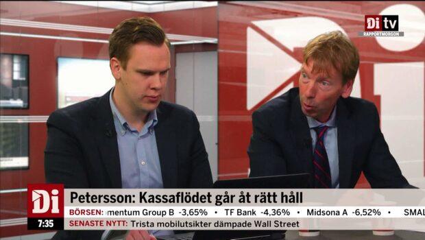 Ericssons resultat bättre än väntat