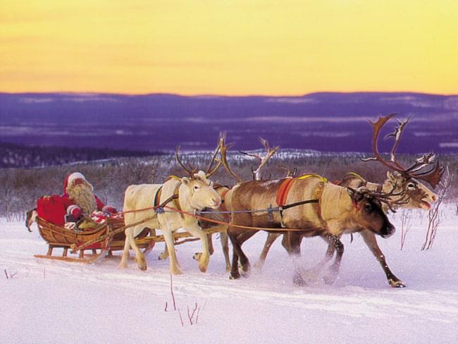 <span>Tomten säg bo i Rovaniemi i Finland.</span>