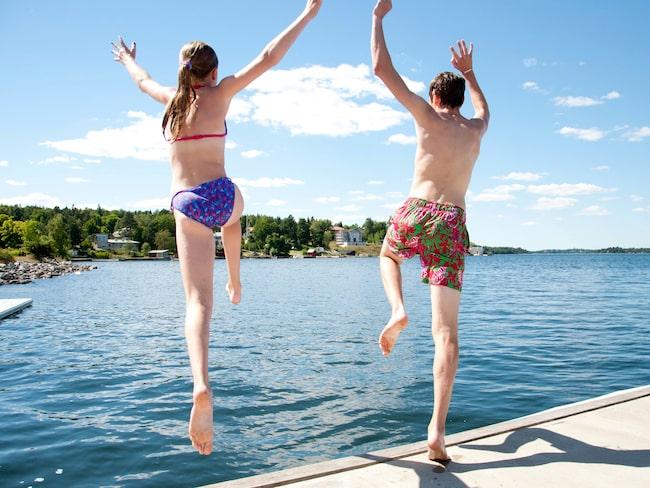 I Stockholmstrakten finns många möjligheter för den badsugne.