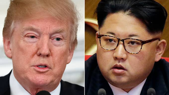 Under fredagen accepterade Donald Trump en inbjudan att träffa Kim Jong-Un för att diskutera kärnvapennedrustning på den koreanska halvön. Foto: EVAN VUCCI WONG MAYE-E / AP TT NYHETSBYRÅN