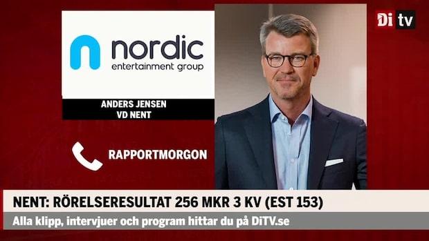 """Anders Jensen vd Nent: """"Vi är i en stark tillväxt fas"""""""