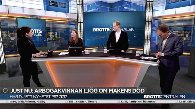 """""""Vi hade en premiärdag som var extremt nyhetsrik"""", säger programledaren Lennart Ekdal."""