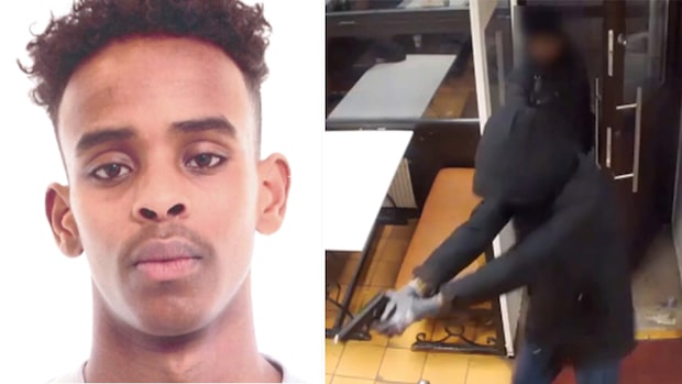 Här är morddömde rymlingen – dömd för pizzeriaskotten i Rinkeby