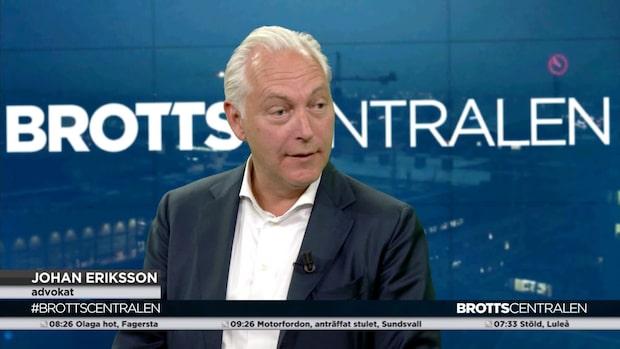 """Johan Eriksson: """"Vissa är mer utsatta"""""""